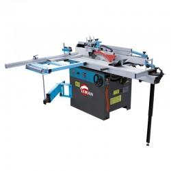 Combiné à bois monophasé 5 fonctions 310mm 3000W
