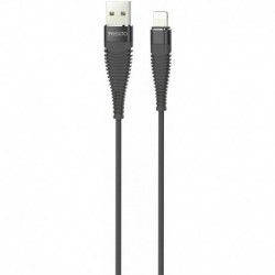 Cable USB renforcé Long Life type Lightning Iphone 1m
