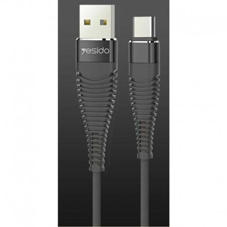 Cable USB renforcé Long Life type C 1m