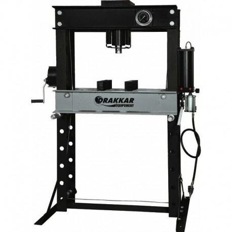 Presse d'atelier manuelle et pneumatique 45T