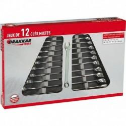 JEU 12 CLES 7 A 24mm FULL POLISH