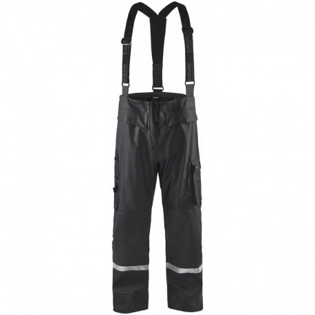 Pantalon de pluie HV niveau 2 Blaklader en destockage