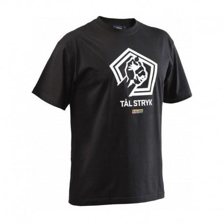 T-shirt Blaklader TÅL STRYK noir 883910429900