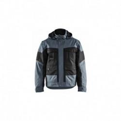 Veste hiver noir / gris Blaklader en destockage