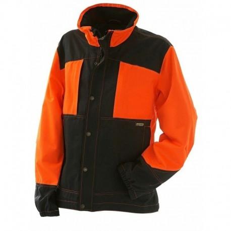 Veste bucheron orange / noir Blaklader 405019005399