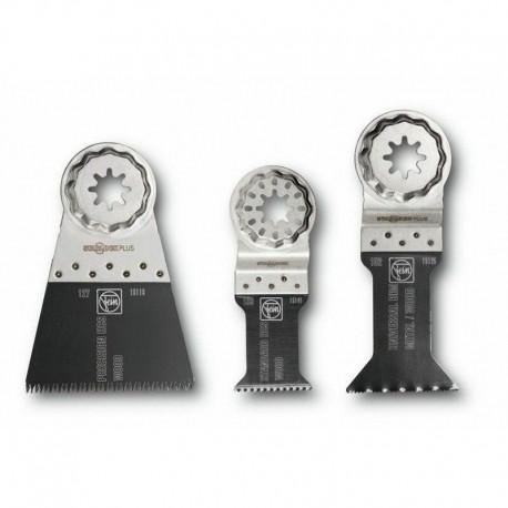 Set de 3 Lames scie bois/métal Combo E-Cut Starlock Plus FEIN 35222952030