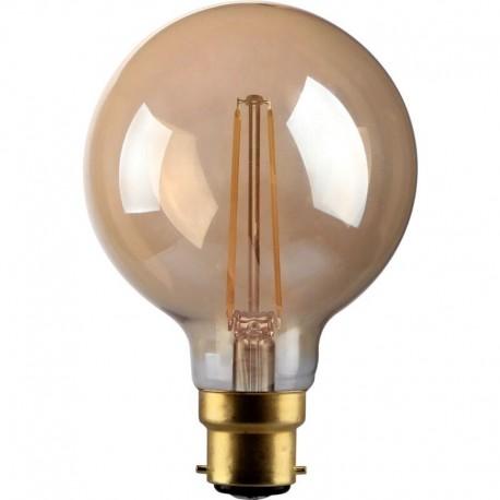 Filament globe vintage 4W G100 B22 Kosnic