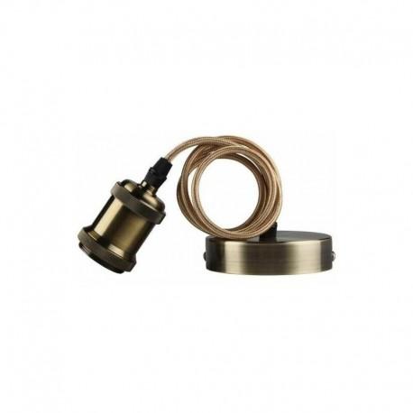 Suspension décorative CALLA 60W E27 Bronze