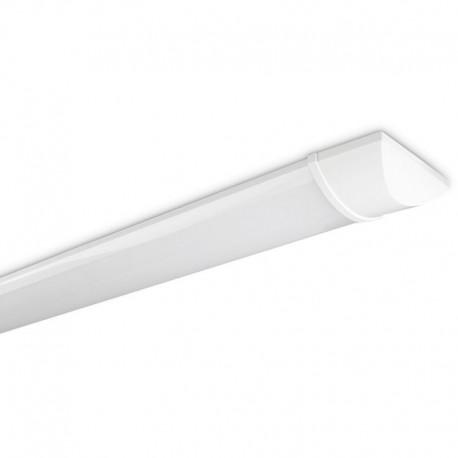 Réglette Flux simple 36W extra-mince avec platine LED intégrée Kosnic