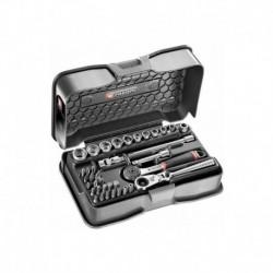 Coffret de serrage 1/4 37 outils Facom R.161-6P6HX