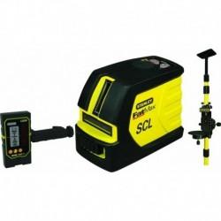 Stanley Niveau laser en kit SCL-D FATMAX avec cellule de détection et canne 6-97-729