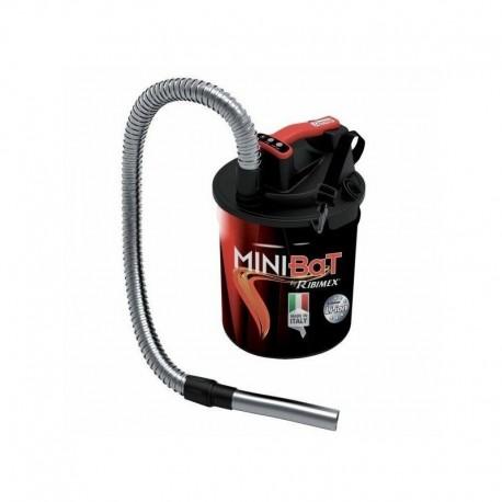 Aspirateur à cendre à batterie MiniBat 10 L Ribitech PRCEN011BAT