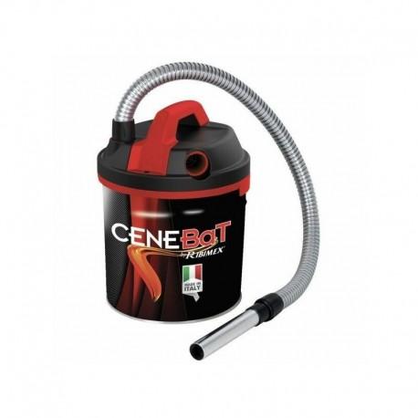 Aspirateur a cendres a batterie 4Ah CeneBat Ribitech PRCEN013BAT