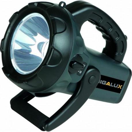 Torche longue portée rechargeable 1 LED Gigalux