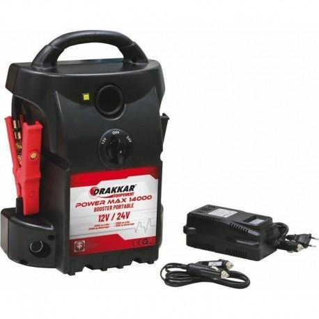 Start truck Booster portable 12/24V Drakkar 04524