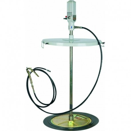 Ensemble pompe pneumatique pour graisse 180/220kg Drakkar