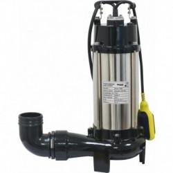 Pompe immergée automatique avec couteau 1800W Drakkar