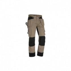 Pantalon de travail Blaklader Beige / Noir 88601860