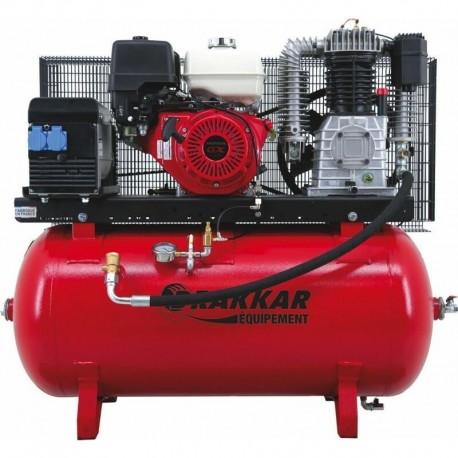 Compresseur thermique essence 11CV 230L moteur HONDA - Drakkar