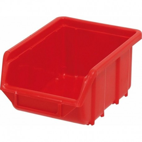 Boite à bec rouge EcoBox 110x165x75mm Drakkar