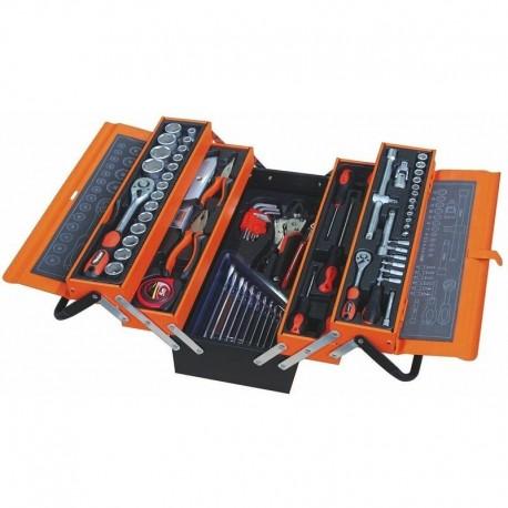 Caisse à outils complète de 76 outils - Equinoxe