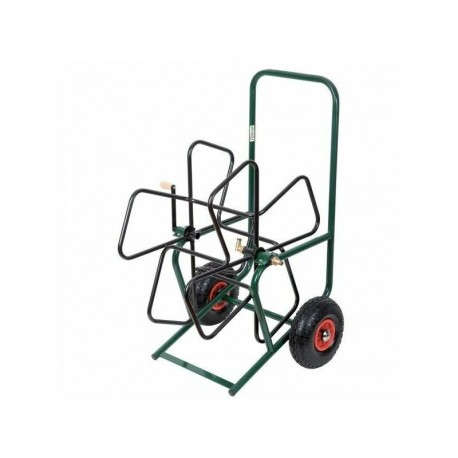 Dévidoir métal PRO sur roues a équiper - Ribimex
