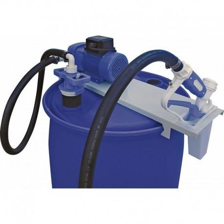 Kit de distribution fixe AdBlue sur fût pompe électrique 230V équipé - 35 l/mn à membrane - Luro