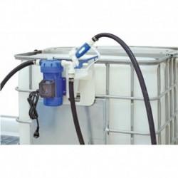 Kit de distribution adblue sur IBC maxifût pompe électrique 230 v équipé - 35 l/mn à membrane - Luro