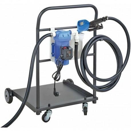 Kit de distribution mobile adblue sur fût pompe électrique 230 v équipé - 35 l/mn à membrane - Luro