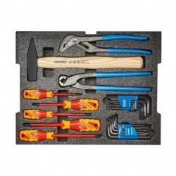 Destockage ! Lot de 26 outils Gedore - Tournevis, Pinces, Marteau, Clés