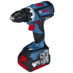 Perceuse visseuse GSR 18 V-60C 2x4Ah L-BOXX Bosch