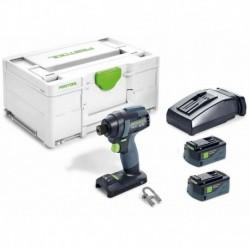 Visseuse à chocs sans fil TID 18 5,2-Plus avec 2 batteries 5,2Ah et chargeur