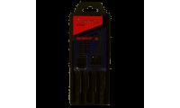 Coffret 5 Forets MAKITA SDS-Plus 4 taillants TCT NEMESIS II - B-58992