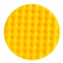 Mousse Mirka 150mmx25mm jaune avec alvéoles, 2/unité