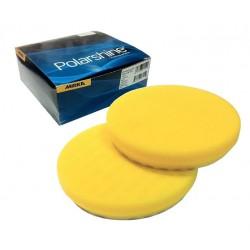 Mousse Mirka 150x25mm jaune lisse, 2/unité