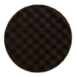 Mousse Mirka 150x25mm noire avec alvéoles, 2/unité