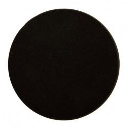 Mousse Mirka 150x25mm noire lisse, 2/unité