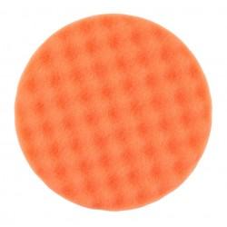 Mousse Mirka 150x25mm orange alvéolée, 2/unité