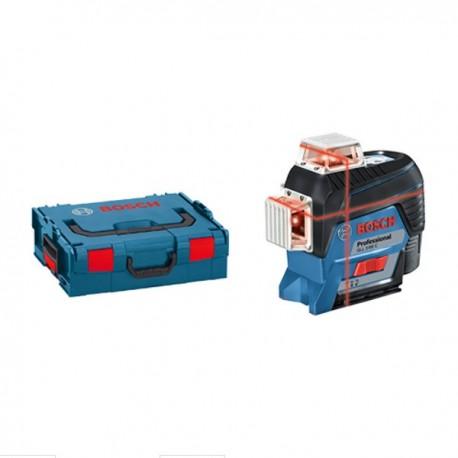 Laser lignes GLL 3-80 C Faisceau rouge en L-BOXX + BM1 Bosch