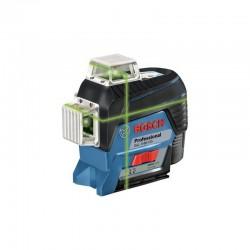 Laser lignes 3 plans Vert GLL 3-80 Connecté CG+ BM 1+ L-Boxx BOSCH