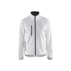 Veste Softshell stretch+ Blaklader Blanc/Gris