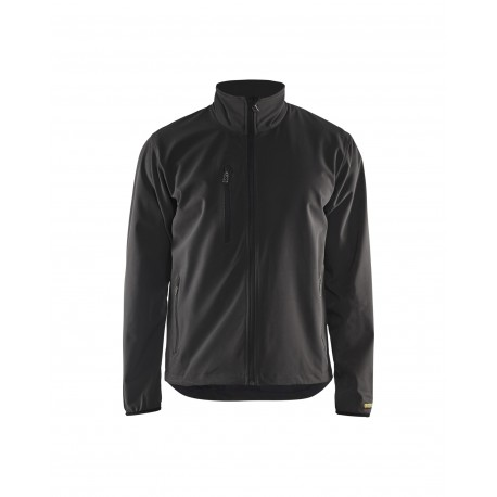 Veste Softshell stretch+ Blaklader Noir