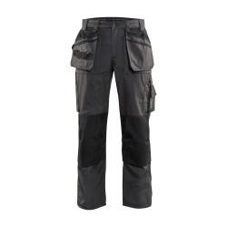 Pantalon Artisan été Gris Foncé/Noir