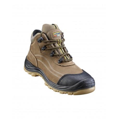 Chaussures de sécurité Blåkläder mi-haute Marron