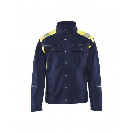 Veste artisan Blåkläder Marine/Jaune