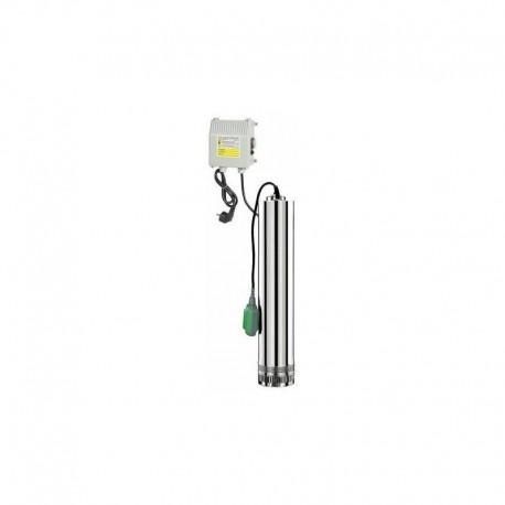 Pompe de puits 4 turbines eaux claires Ribimex PRPVC751/43F