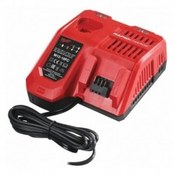 Chargeur Rapide 12-14,4 - 18 / systeme M12 a M18 - Milwaukee - M12-18FC