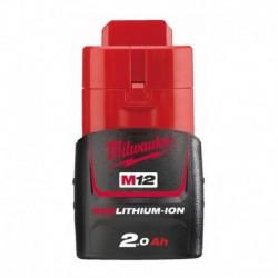 Batterie Red Lithium 2.0 A.h Milwaukee M12 B2