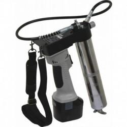 Pompe à graisse 18V sur batterie Drakkar + 2 batteries et chargeur