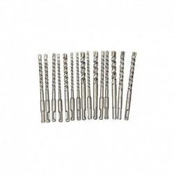 Forets marteau Diager Booster-Plus lot de 15 : 4 6x160- 5 8x160- 3 10x160- 3 12x160